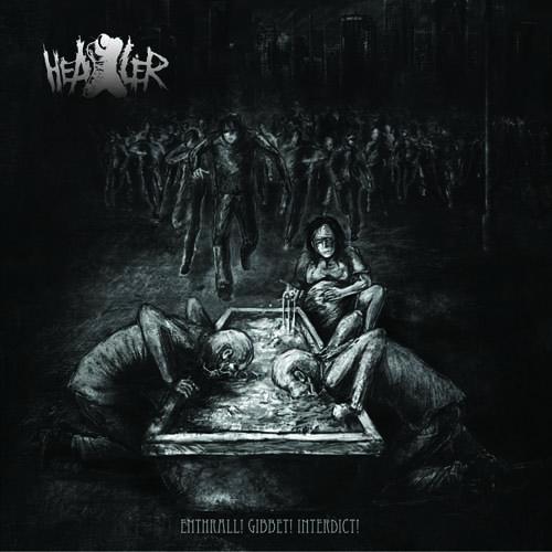 Вышел дебютный альбом HEALER - Enthrall! Gibbet! Interdict! (2012)