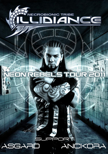 Тур в поддержку нового сингла ILLIDIANCE - Neon Rebels