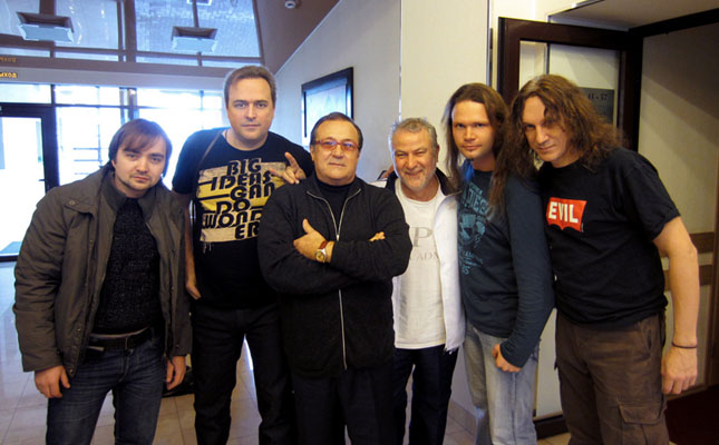 Robertino Loretti в туре с российскими рок-музыкантами
