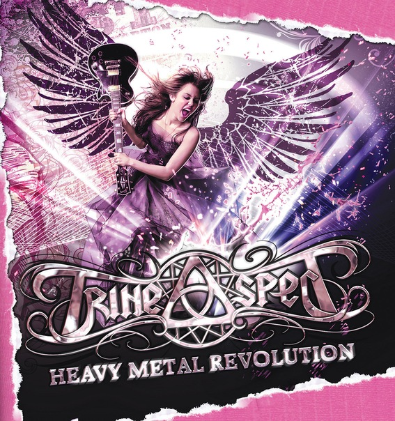 Дебютный EP группы TRINE ASPECT - Heavy Metal Revolution (2011)