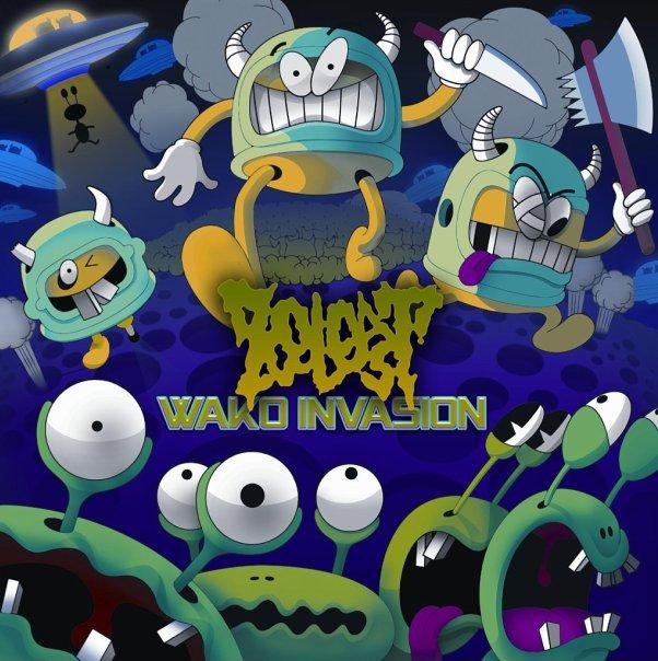 Новый сингл ZOEBEAST - Wako Invasion (2012)
