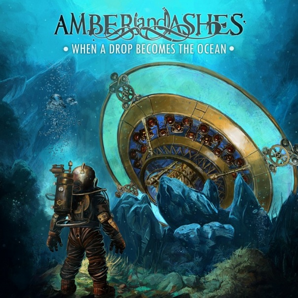 Вышел дебютный альбом AMBER AND ASHES - When A Drop Becomes The Ocean (2011)