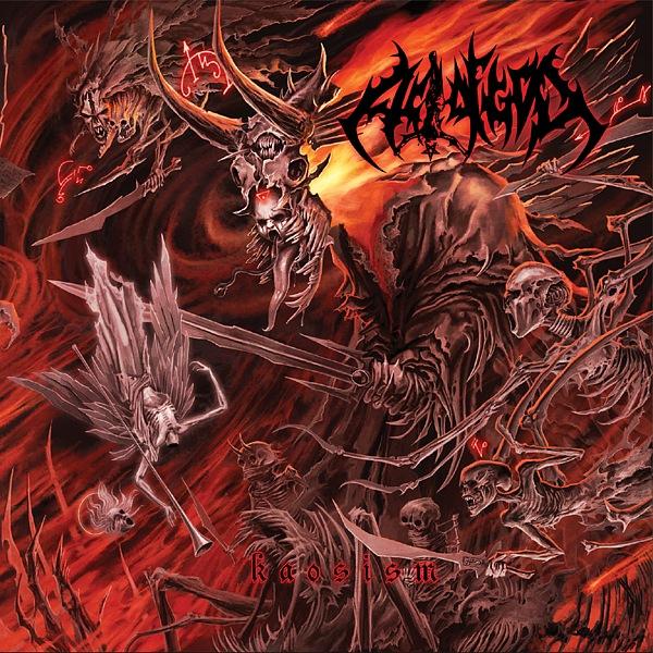 Вышел новый альбом ACT OF GOD - Kaosism (2010)