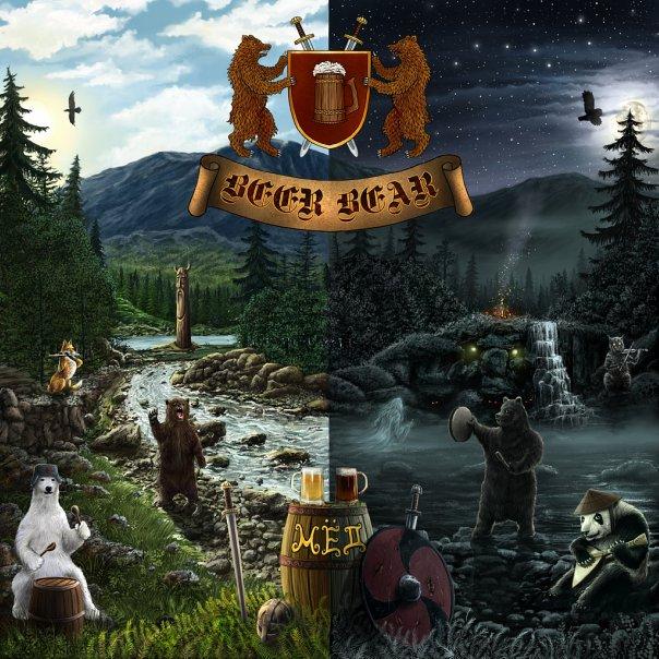 Вышел дебютный альбом BEER BEAR - Мёд (2010)