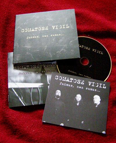 Подробности нового альбома COMATOSE VIGIL - Fuimus, Non Sumus… (2011)