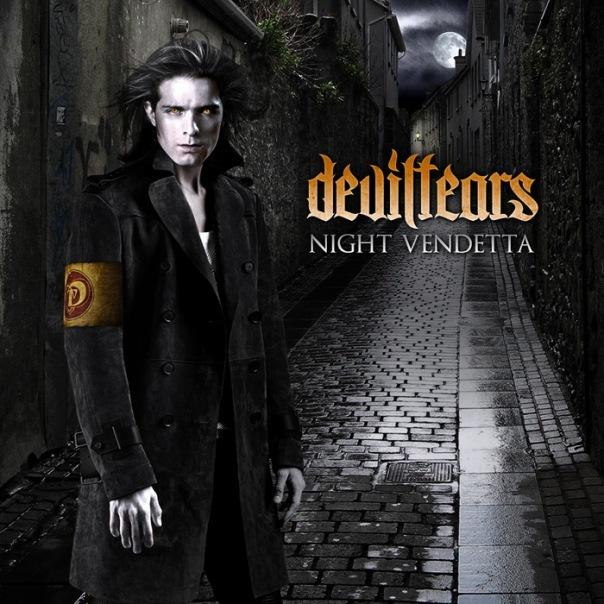 Обложка и сэмплер дебютного альбома DEVILTEARS - Night Vendetta (2010)