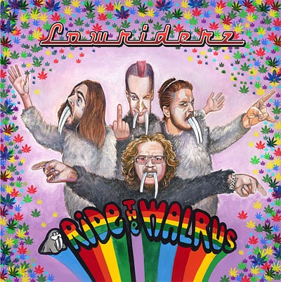 Доступен для скачивания дебютный EP группы LOWRIDERZ - Ride The Walrus (2010)