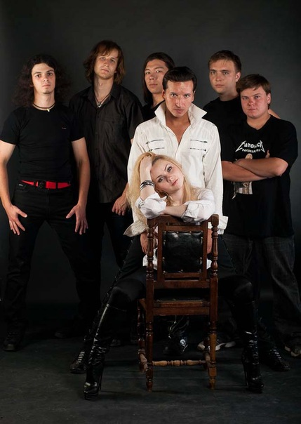 Дебютный альбом группы РАДИУС (ex-CITADEL) - Потерянный мир (2011)