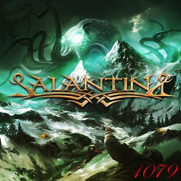 Вышел дебютный альбом группы SALANTINA - 1079 (2011)