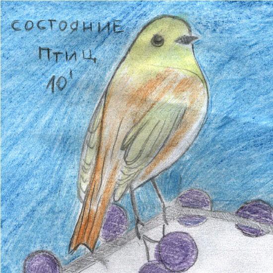 СОСТОЯНИЕ ПТИЦ - EP (2010)