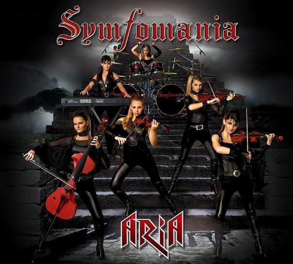 Вышел второй альбом группы SYMFOMANIA - Aria (2010)