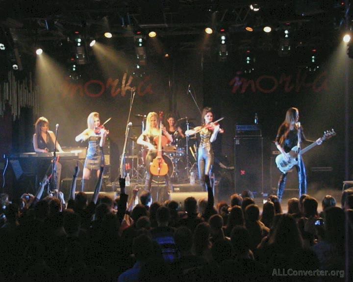 Видео с концерта CATHARSIS и SYMFOMANIA (Точка, 06.03.2011)