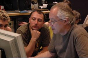 Tony Platt и группа Небо Здесь на студии Мосфильм